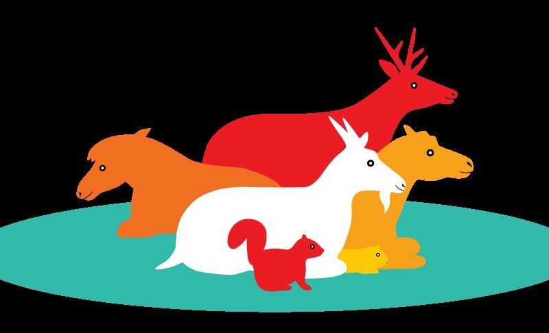 こども動物園のイラスト